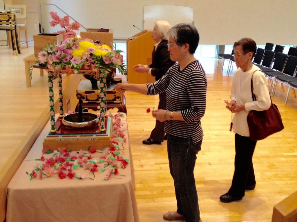 Hanamatsuri Service & Family Banquet