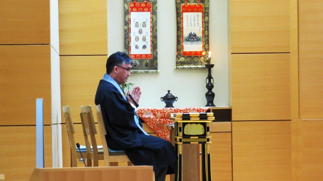 Nirvana Day with Rev. Ikuta